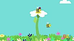 آموزش اعداد 1 تا 10 (The Bees Go Buzzing)