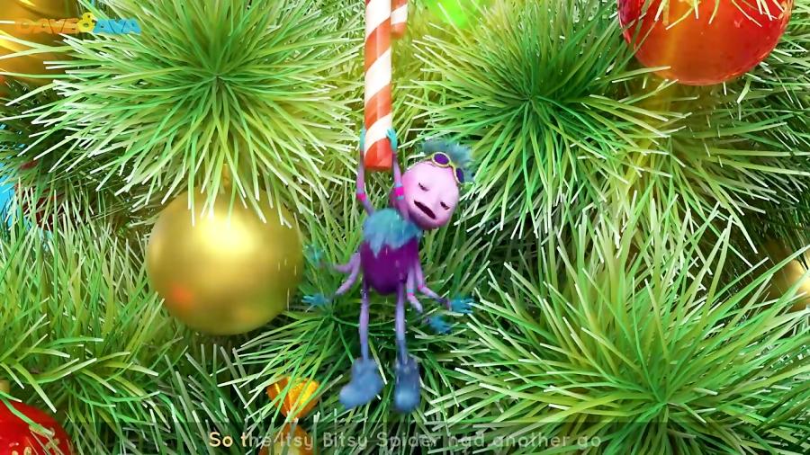 Itsy Bitsy Spider Christmas Version