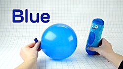 Learn Colors with Colorful Toys and Color Crew