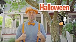 Blippi Learning Emotions With Halloween Pumpkins