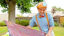 Blippi Learns Colors Of The Rainbow With The Penguins Love Colors Book