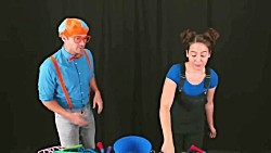 Blippi Learns Shapes and How To Make Big Bubbles