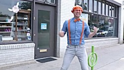 Exercise With Blippi at The Kids Playground