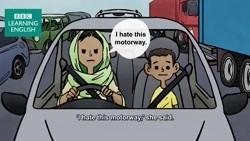 Abdu in the traffic jam