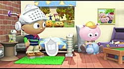 Super Why and The Ghost Who Was Afraid of Halloween