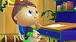 Super Why and The Boy Who Drew Cats