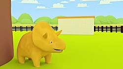 Learn Objects - Dino and Dina Play Hide Seek